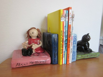 Lil Girl Bookends