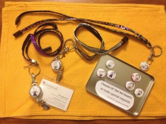 lil girl inserts and lanyards