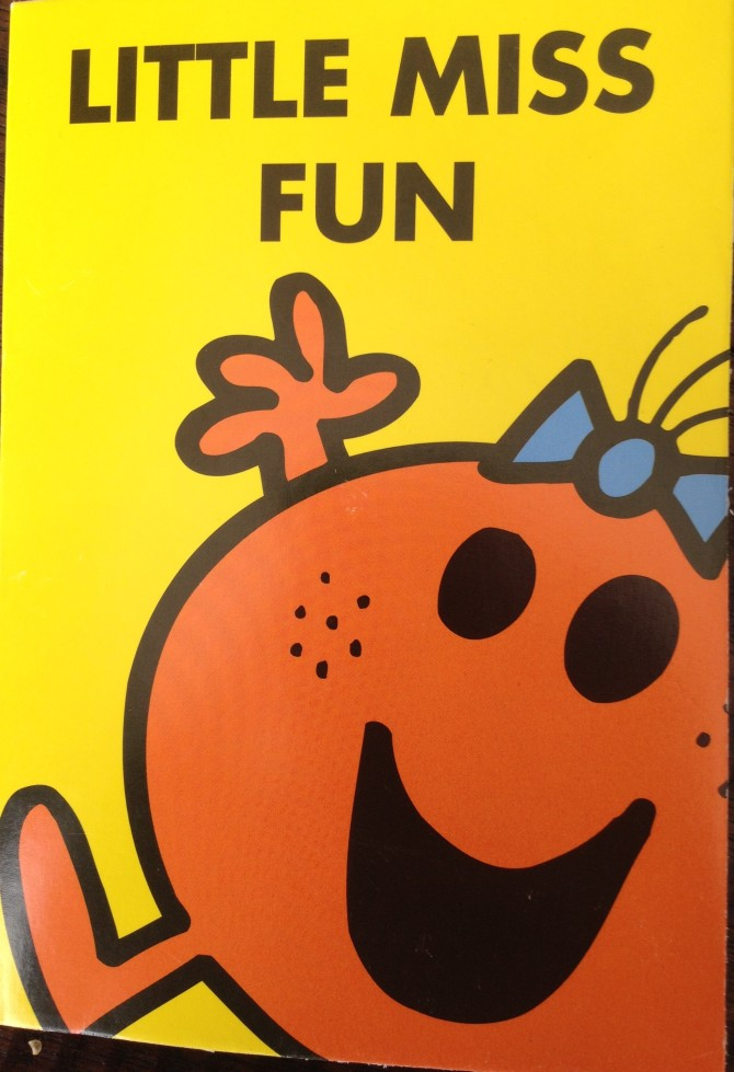 Little Miss Fun Card
