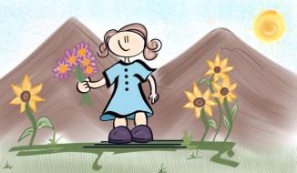 Lil Flower Girl