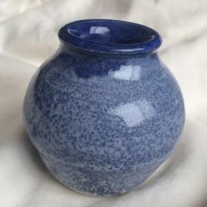 Lil blue vase