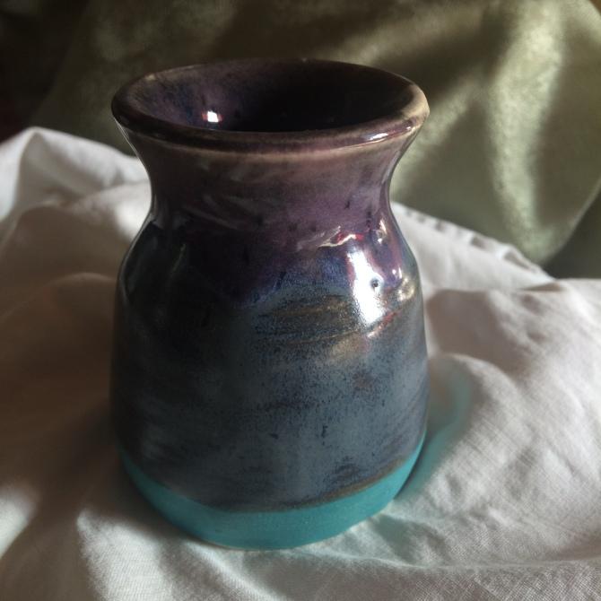 lil purple bud vase