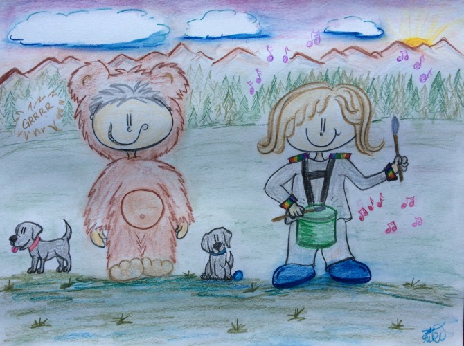 Lil' Bear Collector & Lil' Drummer Girl