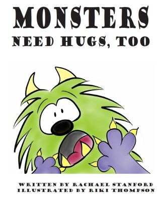 Monsters need hugs too cover